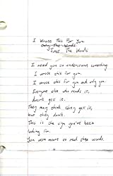 [(I Wrote This for You: Just the Words)] [Author: Pleasefindthis , Iain S Thomas, By (photographer)Jon Ellis] published on (December, 2013)