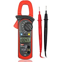 UNI-T UT204 400A DC/AC Medidores de Pinza Multímetro Digital, Capacitancia,