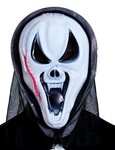 Scary Halloween Kostüm Masken Terror Ghost Devil Maske Tanzparty (Farbe : Centipede, größe : M)