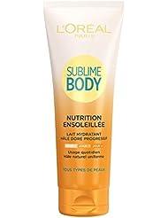 L'Oréal Paris Sublime Body Lait Corps Hydratant Nourrissant Hâle Progressif Naturel