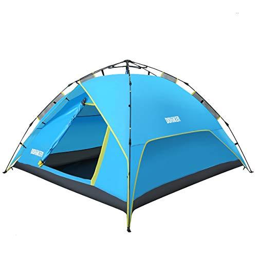 Dohiker La Tienda de campaña portátil y Establecer automáticamente 4-6 Personas Campamento para Viaje Campaña Carpa para Senderismo Actividades al Aire Libre