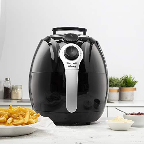 Tristar Heißluftfritteuse/ Crispy Fryer XL mit einstellbarem Thermostat und Timer | ohne ÖL – einfach zu reinigen – mit 3,2 Liter Fassungsvermögen, FR-6990 - 2