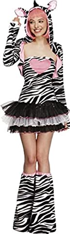Womens Costume Party Animal - Mesdames Costume Fever Zebra Style Animal pour