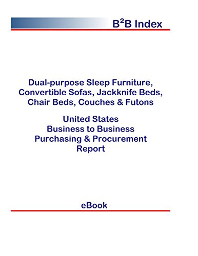 Convertible Couch (Dual-purpose Sleep Furniture, Convertible Sofas, Jackknife Beds, Chair Beds, Couches & Futons United States: Purchasing + Procurement Values in the United States (English Edition))