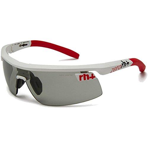 Rh++ olympo triple fit occhiali, unisex adulto, bianco (bianco/rosso),