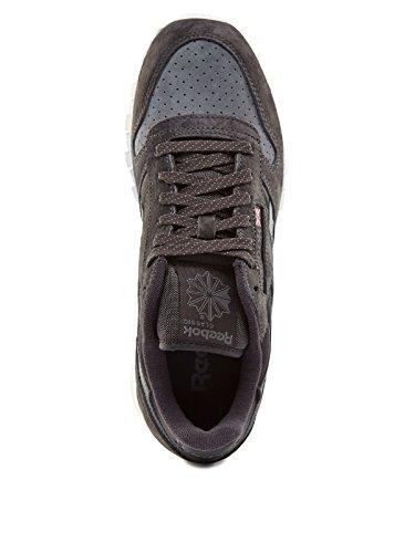 Reebok Classic Leather Chambray Herren Sneaker Grau Grey
