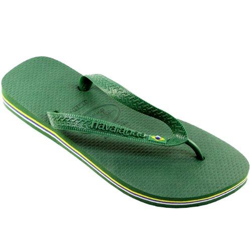 Damen Sandalen Havaianas Brasil Flip Flop Sandals Grün
