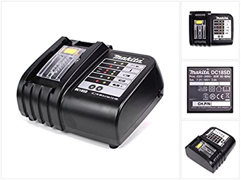 MAKITA dC18SD 220 v chargeur de batterie 7, 2-18 v
