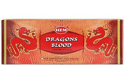 Dragons Blood-räucherstäbchen (120 Räucherstäbchen DRAGON BLOOD Duft aus Indien)