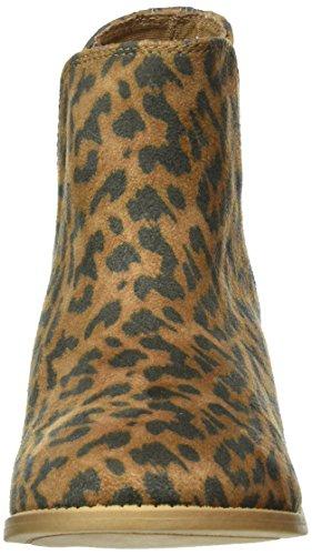 Roxy Austin, Stivali a Metà Polpaccio con Imbottitura Leggera Donna Marrone (Braun (Cheetah Print -CHE))