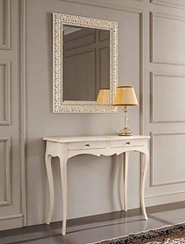 Consolle classica in legno gambe a sciabola da ingresso for Ingresso casa classica