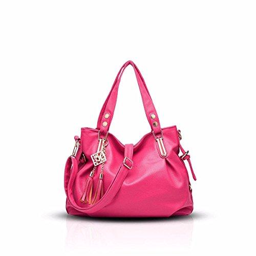 821e7a3602 Gxinyanlong Nuevo Bolso de Las señoras Classic Casual Moda Bolso Suave  Portable Shoulder Bag Women Messenger