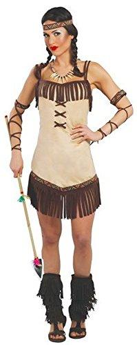 Imagen de disfraz para mujer de india miwok talla 38/40