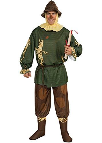 Struts Fancy Dress Erwachsenen Zauberer von Oz Vogelscheuche ()