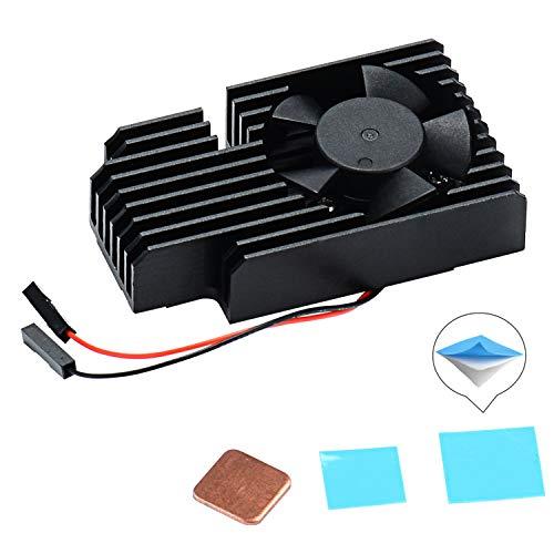 GeeekPi Kit de enfriamiento de Raspberry Pi, disipador de Calor de Aluminio con...