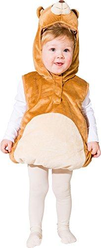dybär Bär Weste-Kostüm Gr.104 (Eisbär Kinder Kostüm)