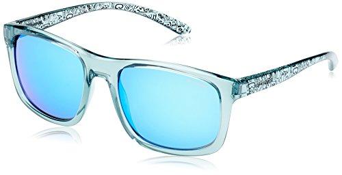 Arnette Herren 0AN4233 247725 57 Sonnenbrille, Türkis (Transparent Azure/Mirrorazure)