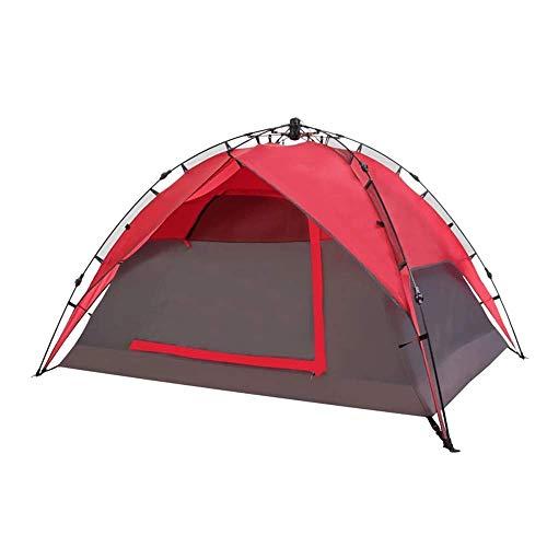 GFF Familien-Campingzelt, 3-4 Personen im Freien Vollautomatische Feldausrüstung Regenfestes tragbares Familien-Sammlungs-Abendessen-Park-Zelt -