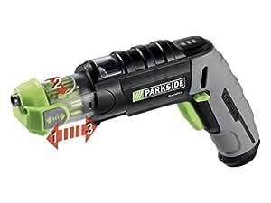 Parkside avvitatore a batteria rapidfire con ricambio for Batteria avvitatore parkside