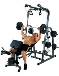 Station de musculation solid xp avec poids 76 kg