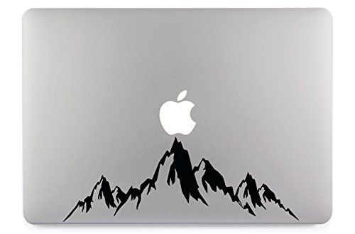 Berge Mountain Bergkette Groß Apple Macbook Air Pro Notebook Laptop Aufkleber Skin Decal Sticker Vinyl 13