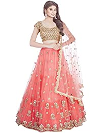 Florence Net Embroidered Lehenga Choli