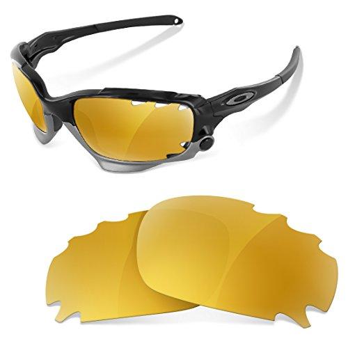 sunglasses restorer Ersatzgläser für Oakley Jawbone Vented (Gold 24K Gläser)