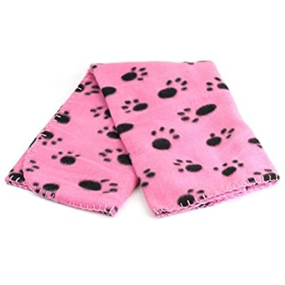 amazing-trading Soft Pet Blanket Fleece Pet Supply rose 1