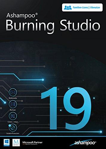 Burning Studio 19 - Brennen - Kopieren - Sichern Das Multimedia Genie für Filme, Fotos, Musik und Daten für Windows 10 / 8.1 / 7