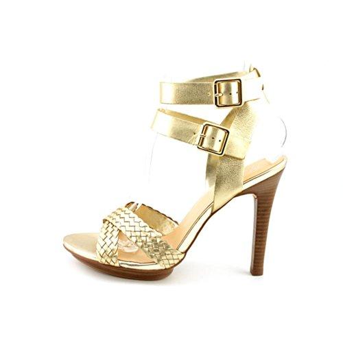 Marc Fisher Cari Leder Sandale Gold