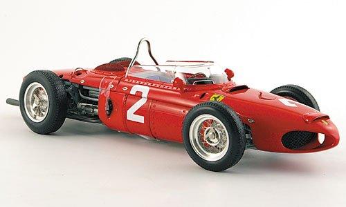 Ferrari 156 F1, No.2, P.Hill, Sieger GP Italien, Monza, 1961, Modellauto, Fertigmodell, CMC 1:18