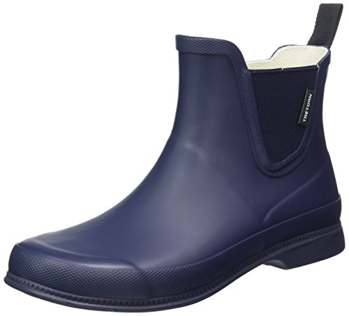 Tretorn Damen Eva Låg Gummistiefel, Blau (Navyblue), 41 - Tretorn Schuhe