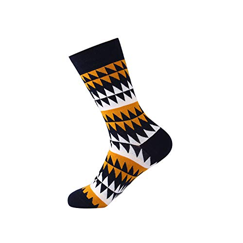 gthytjhv Calcetines de tripulación, paquete de calcetines de vestir, Mens Happy Socks Combed Cotton Crew Thermal Cool Socks Men Winter New Arrival Novelty Funky Colorful Funny Socks Gift For Men 5