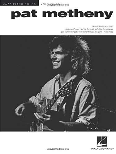 Pat Metheny: Jazz Piano Solos Series Volume 57 (Hal Leonard Jazz Piano)