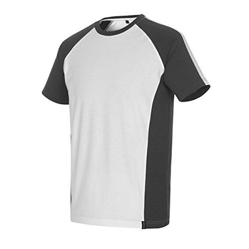 Mascot T-Shirt zweifarbig 50567 weiß/dunkelanthrazit
