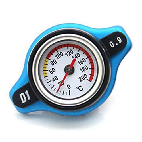 0.9bar oder 1.1bar Auto Kühlerdeckel + Wassertemperaturanzeige für die Umrüstung von Autos