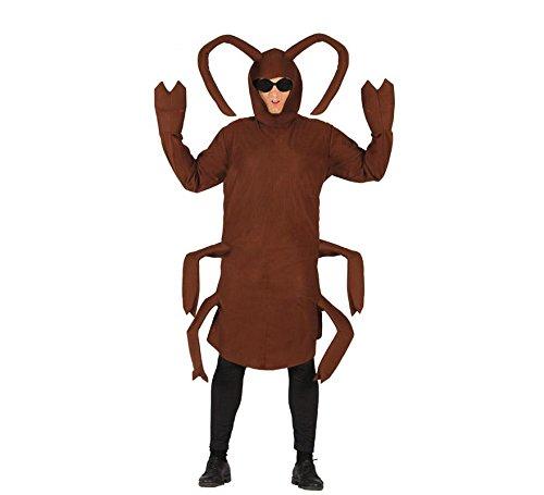 tüm für Erwachsene Gr. M/L, Größe:L (Riesen-kakerlake)
