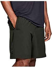 Under Armour - Pantalón Corto - para Hombre Negro Negro (Large 641f8ad95e78