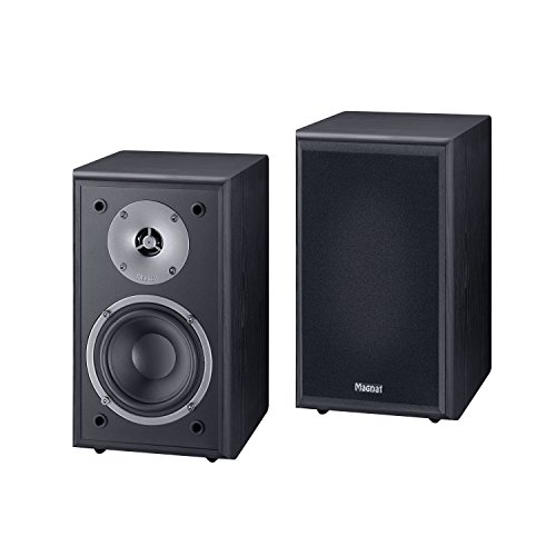Magnat Monitor Supreme 102 - Altavoces de estantería (60-120W RMS), color negro