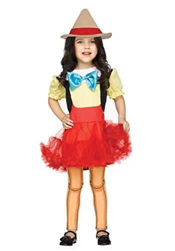 Unbekannt Toddler Wooden Girl Fancy Dress Costume 4T