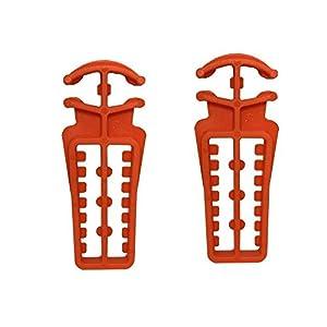 Rex Langlauf Ski- und Stockhalter, orange