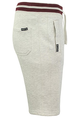 Tokyo Laundry Herren Shorts 'Belcarra Point' Oatgrey Marl