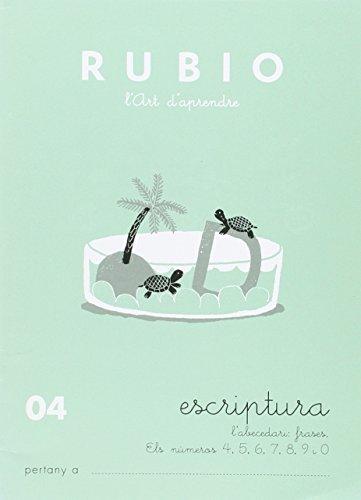 Rubio. Escritura 04