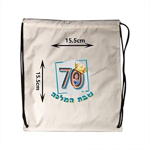 Kordelzug Cinch Tasche (sunnymi  ® Taschen für Ipad Nylon Kordelzug Cinch Sack Sport Reise Outdoor Rucksack (A))