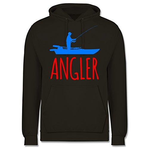 Angeln - Angler Boot - Angelboot - Männer Premium Kapuzenpullover / Hoodie
