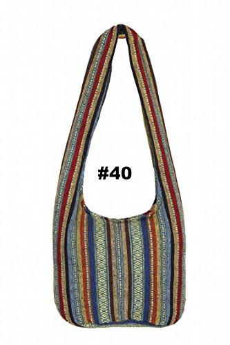 Thaiuk, Borsa A Tracolla Da Donna Multicolore # 82 # 40