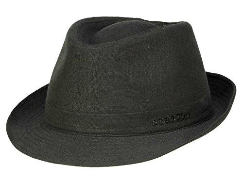 Stetson Chapeau Trilby Geneva Linen Homme - noir