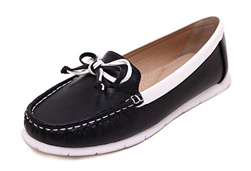 minetom-mujer-verano-casual-cabeza-redonda-arco-plano-zapatos-de-los-guisantes-salon-con-dedos-antid