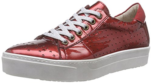 Mjus 785117, Sneakers Basses femme Rouge - Rot (Rosso)