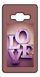Happoz 3D Love Mobile Phone Back Panel Printed Fancy Pouches Accessories Z1457